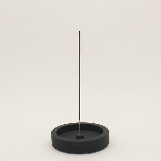 Black Granite Small Incense Holder