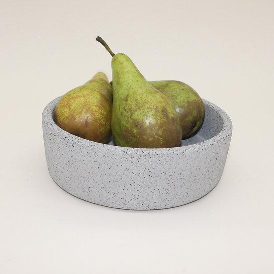 Grey Granite Decorative Bowl