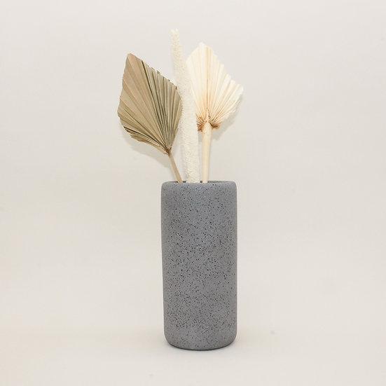 Grey Granite Large Vase