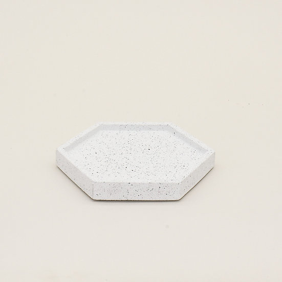 White Granite Trinket Tray