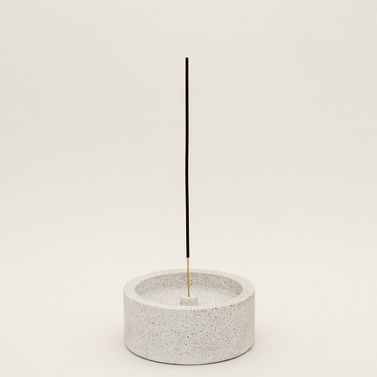 Pebble Stone Large Incense Holder
