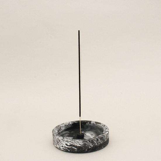 Black Marble Incense Holder