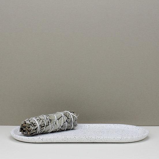 White Granite Decorative Tray