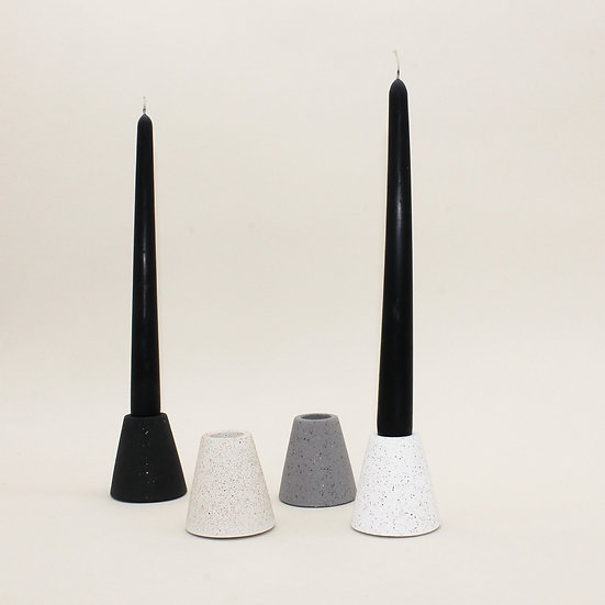 Stackable Triangle Candlestick Holder