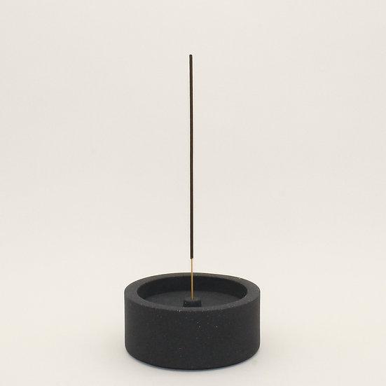 Black Granite Large Incense Holder