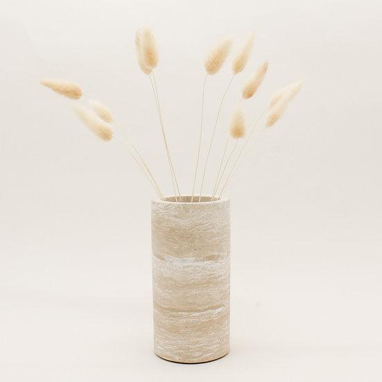 Beige Marble Vase