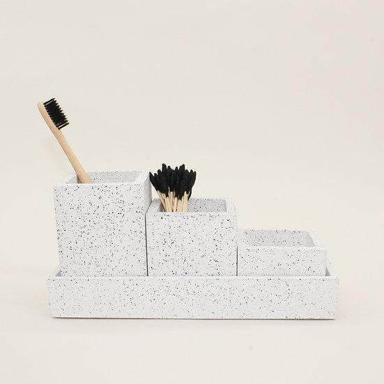 White Granite Organiser