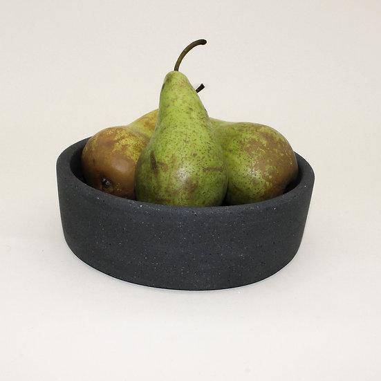Black Granite Decorative Bowl