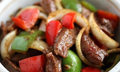 Pepper Steak with Onion