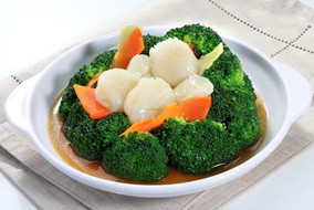 Scallop with Broccoli