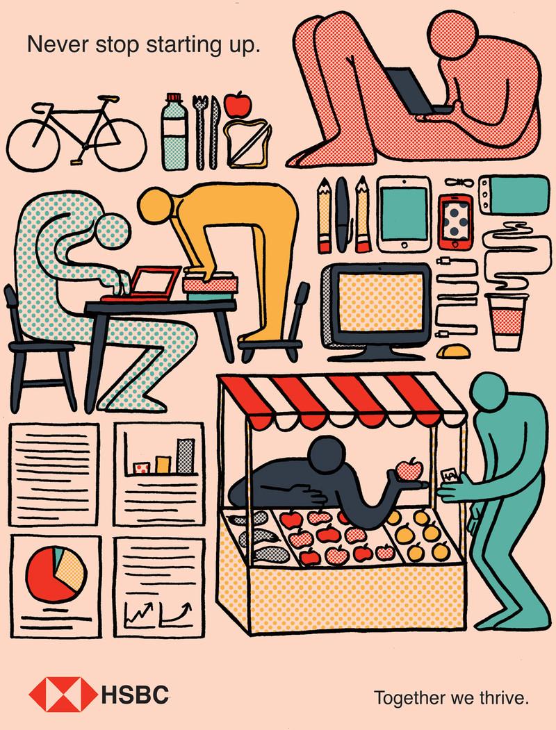 Illustration for HSBC