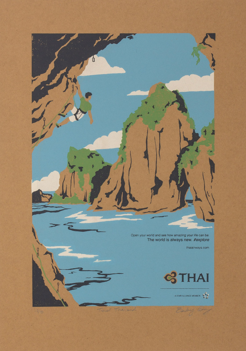 Illustration for Thai Airways