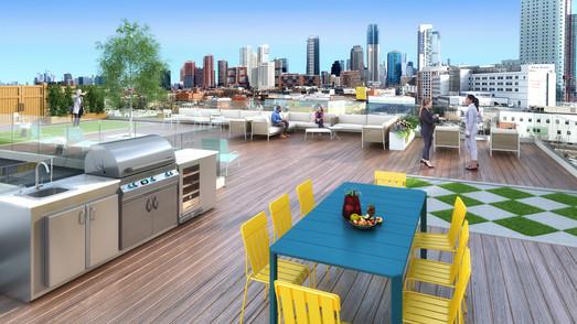 7th Floor Roof Terrace