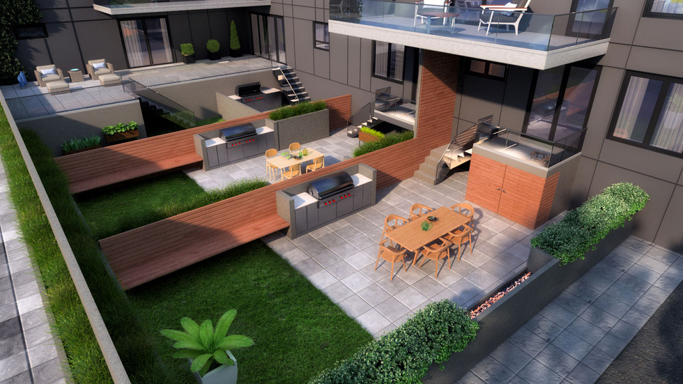 Variety of Outdoor Spaces