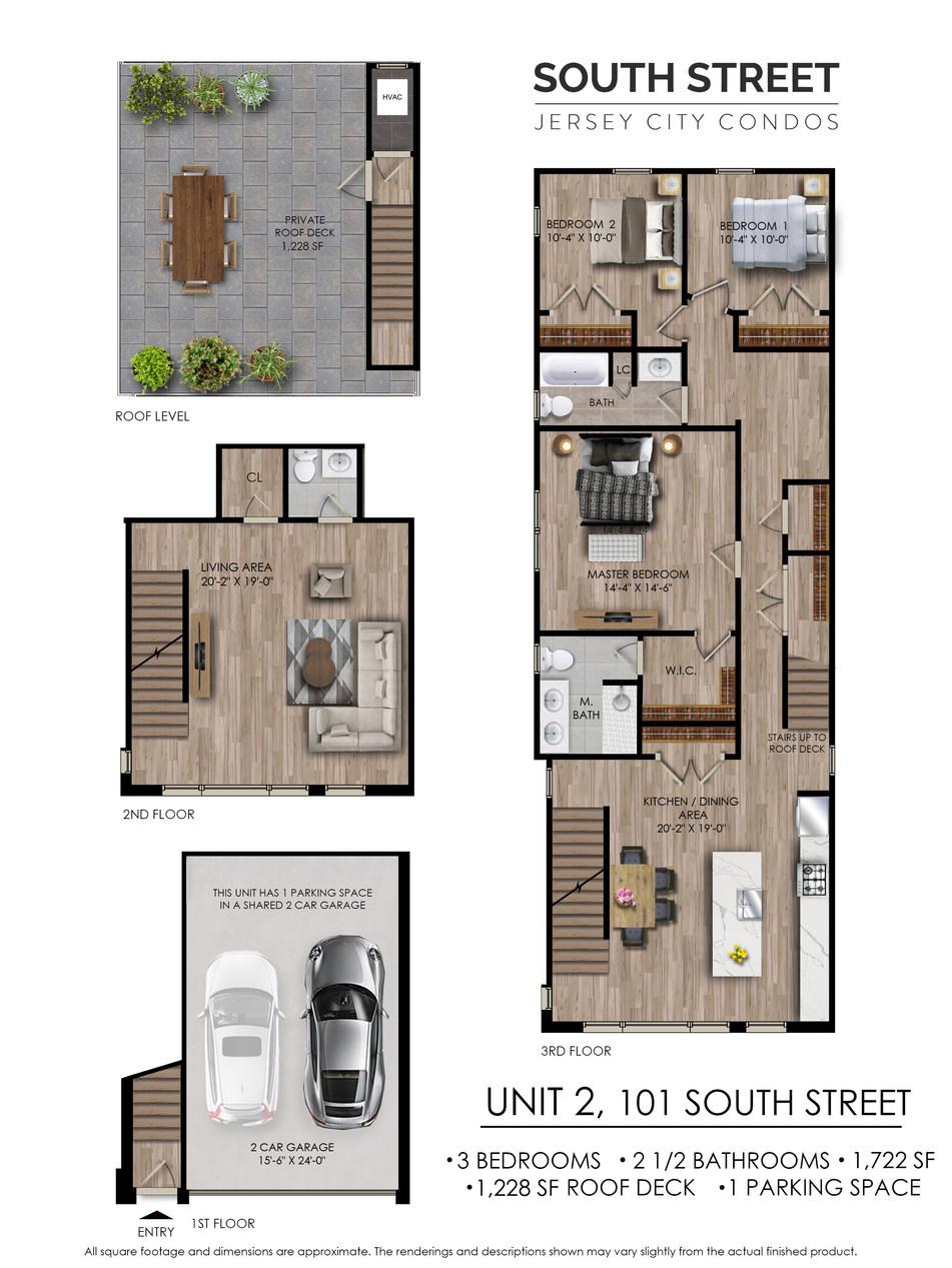 Unit 2 - 101 South Street