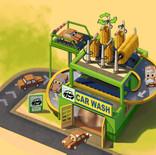 Car Wash building concept
