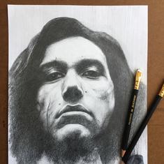 Pencil Study Kylo Ren