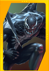Spider-Man Unlimited - Superior Venom Card Art