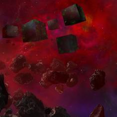 Star Trek Timelines App Store Featuring Background