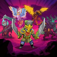 MonsterWars Character Title Art