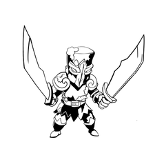 Monster Wars Character Sketch