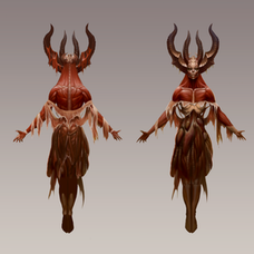 Character Concept - Goddess of the Hunt - Personal Project