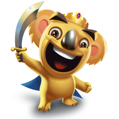 Koala King - Tropical Wars - Mobile