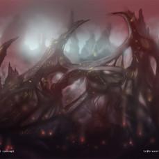Spider-Man Unlimited - Dark Alien World Environment Concept 3