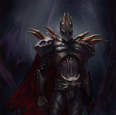 Dark Paladin character concept trevor co