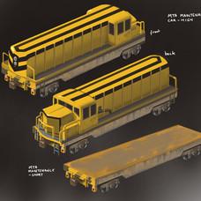 Spider-Man Unlimited - Maintenance Train Concept