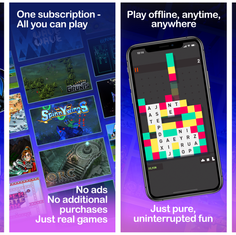GameClub App Store Screens