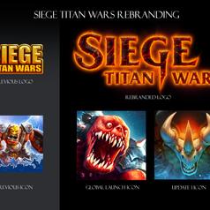 Siege Titan Wars Rebranding