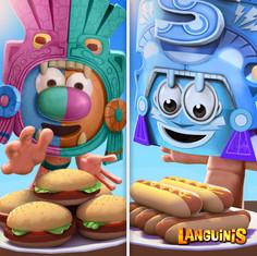 Languinis Facebook Marketing Ad