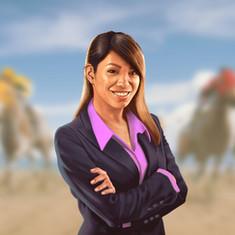 Photo Finish In-Game Advisor Character Art