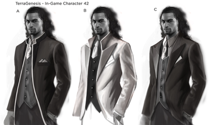 Ingame character 42 sketches
