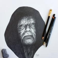 Pencil Study Emperor Palpatine