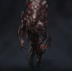 human sized enemy concept - trevor cook.