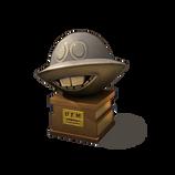 UFO statue