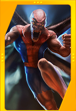 Spider-Man Unlimited - Spider X Card Art