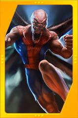 Spider-Man Unlimited - Spider X Card Art