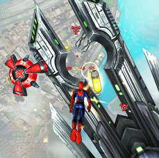 Spider-Man Unlimited - Sinister Six Carrier In-Game