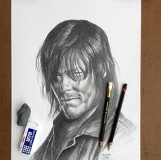 Pencil Study Daryl Dixon