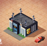 Police Station concept