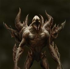 Spikey Demon Concept