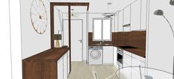 Projet 3D de la cuisine