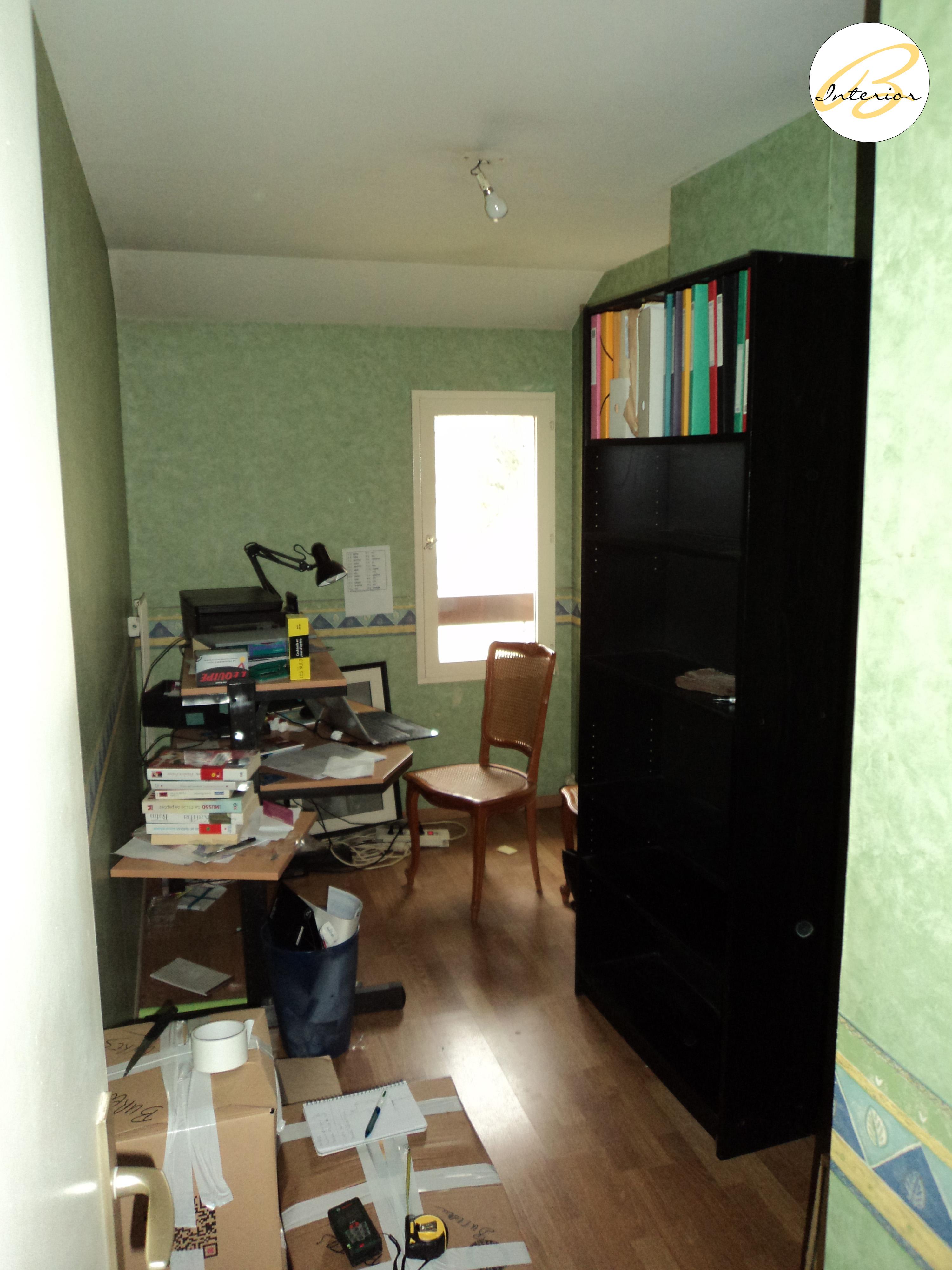 Bureau ou chambre bébé avant