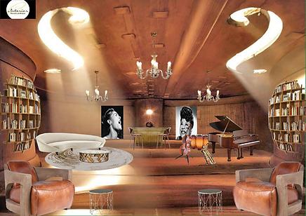 #Histoiredeviolon #violon #decor #deco #decoration #architecturedinterieur #salondemusique #souplex #salonatypique #atypique #contemporain #stylecontemporain
