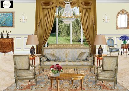 #siversaillesmetaitconte #salon #versailles #chateaudeversailles #decor #deco #decoration #architecturedinterieur #salondestyle  #stylelouis15 #stylelouis16