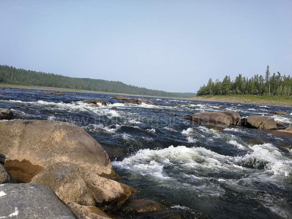 Рыбалка на река северной красноярский край