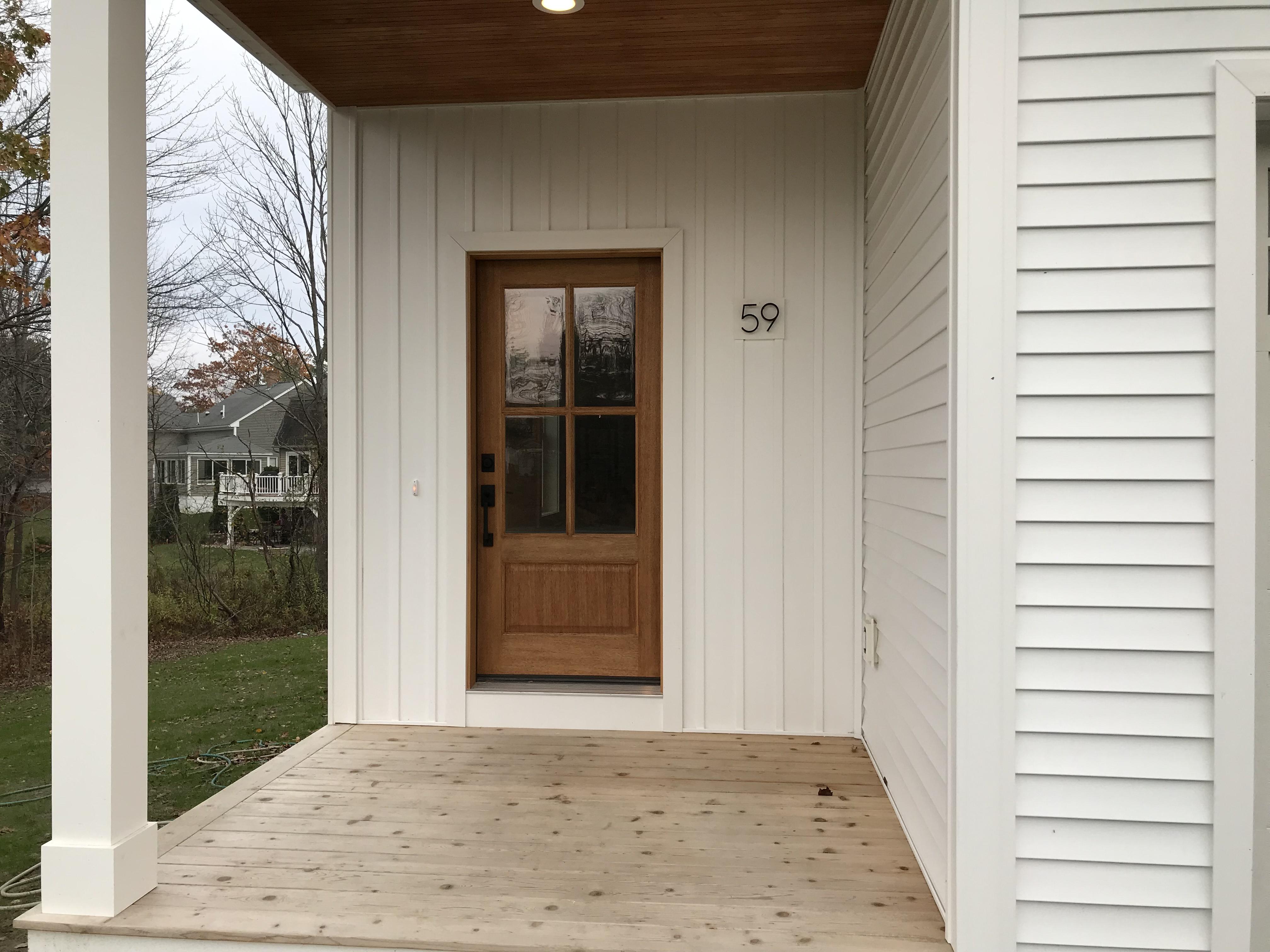 Farmhouse Entry Door